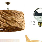 vine pendant chandelier and half chrome light bulb