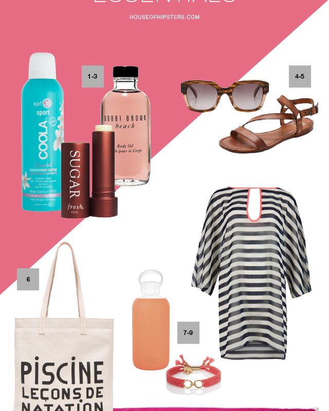 10 Summer Beach Essentials