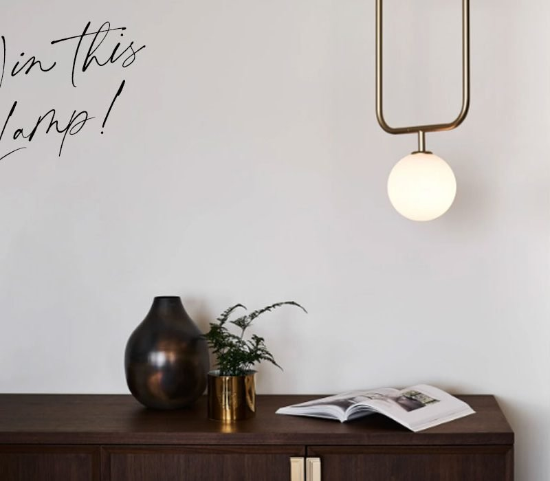 Win this modern contemporary pendant lamp designed by SEED Design USA and available at Wescover